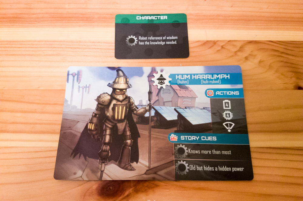 Robit Riddle Storybook Adventures review - character cards
