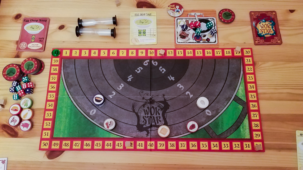 Wok Star (3rd Edition) review - game in progress