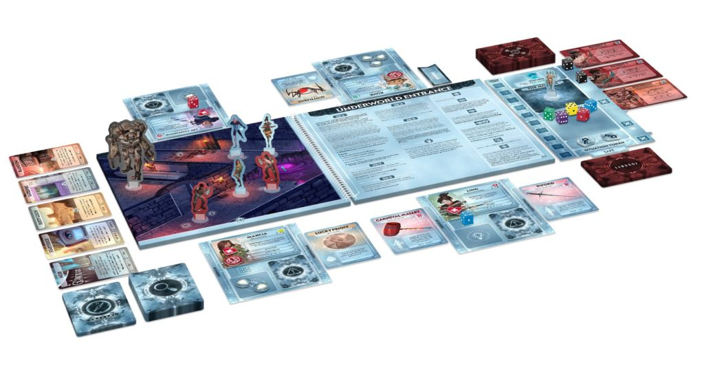 Comanauts preview - components