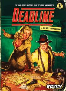 Deadline board game review - cover