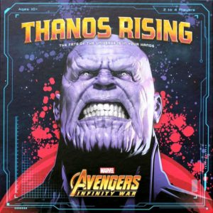 Thanos Rising board game review - cover