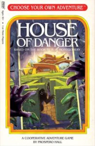Choose Your Own Adventure House of Danger board game review - cover