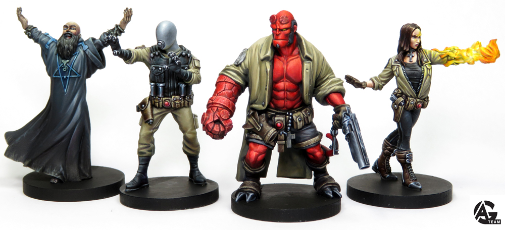 Hellboy The Board Game - minis