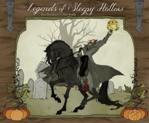 Legends of Sleepy Hollow board game preview - cover