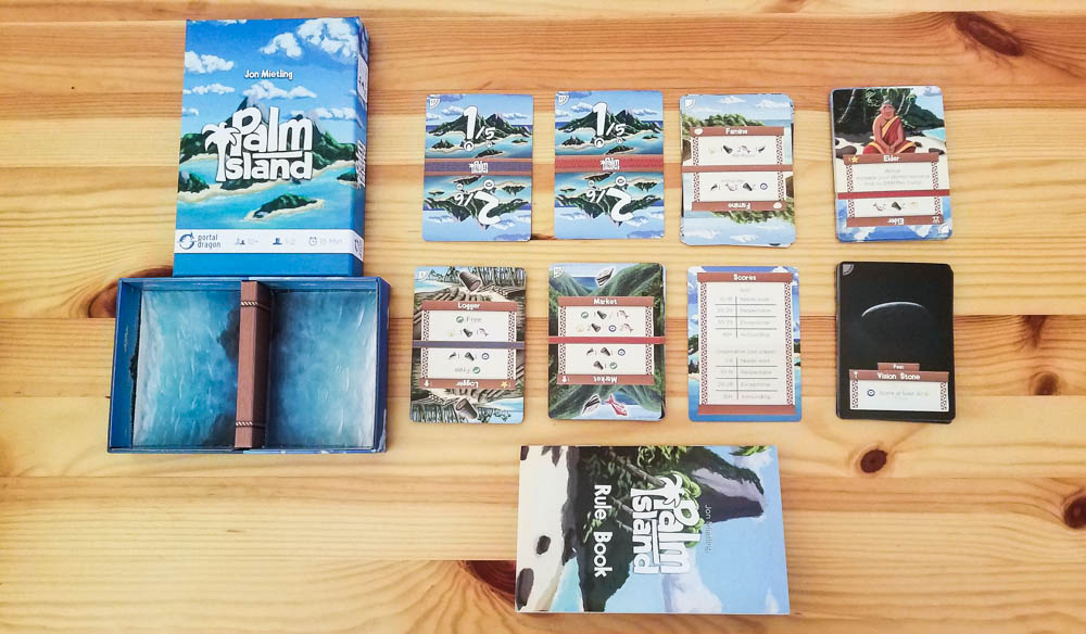 Palm Island review - all of the cards