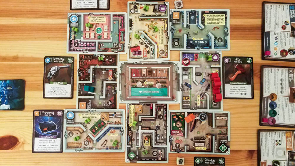 Tiny Epic Zombies review - the mall