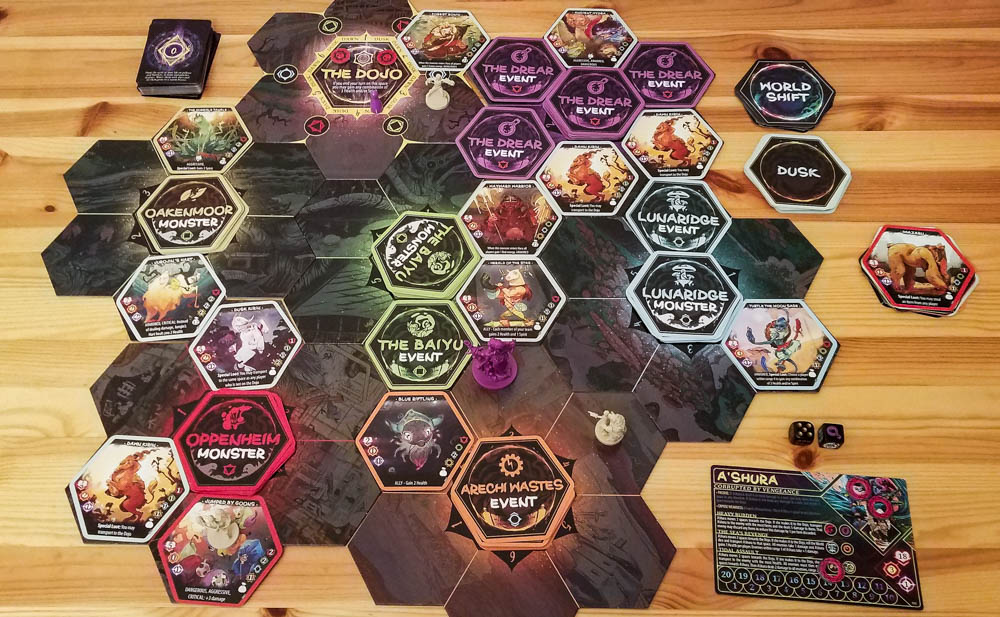 Champions of Hara review - playing a scenario