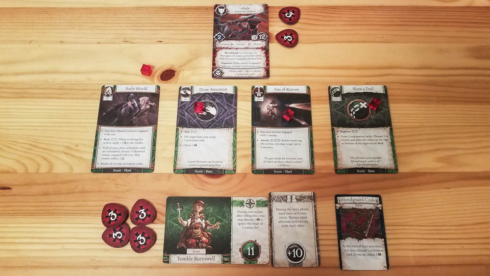 Heroes of Terrinoth review - facing the nemesis
