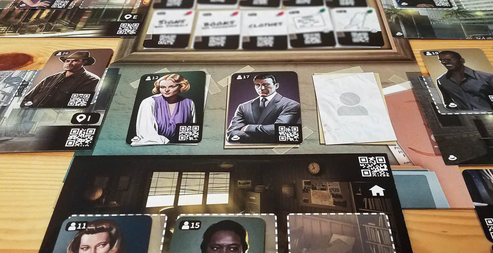 Chronicles of Crime Noir review - playing a case