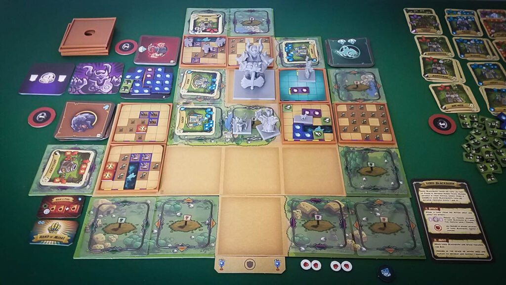 Kingdom Rush review - 3 player game (scenario 7)