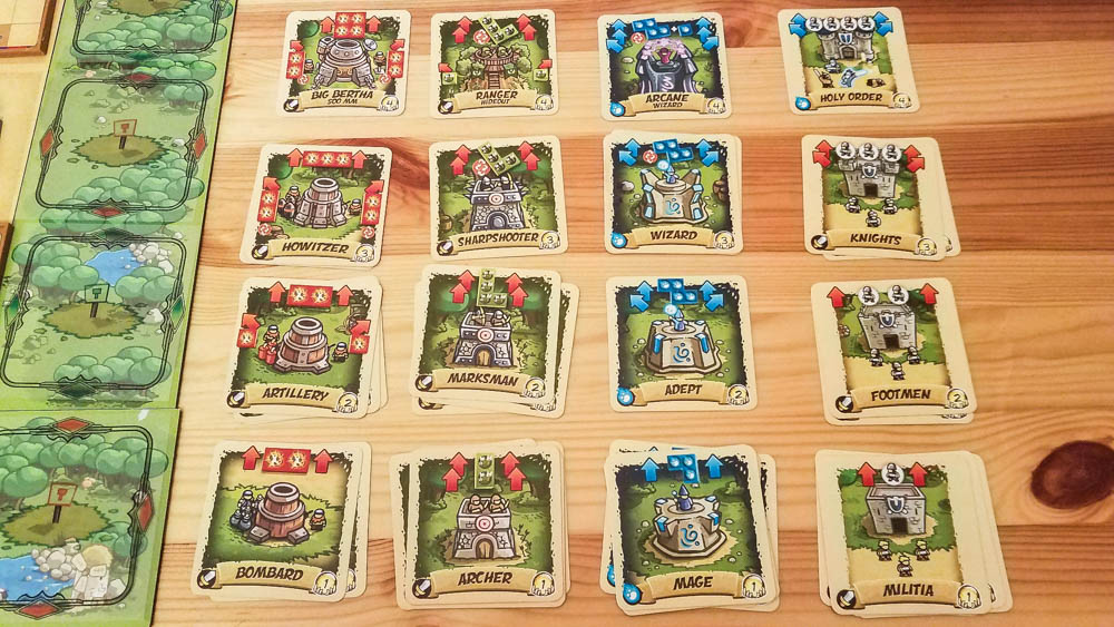 Kingdom Rush review - tower cards