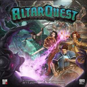 Altar Quest board game - cover