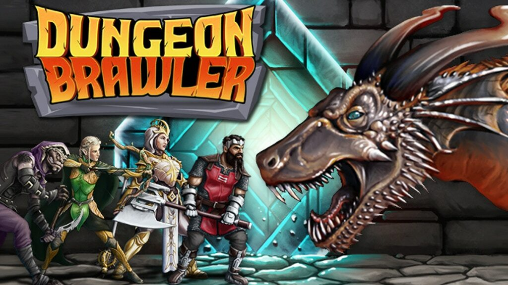Dungeon Brawler board game - cover