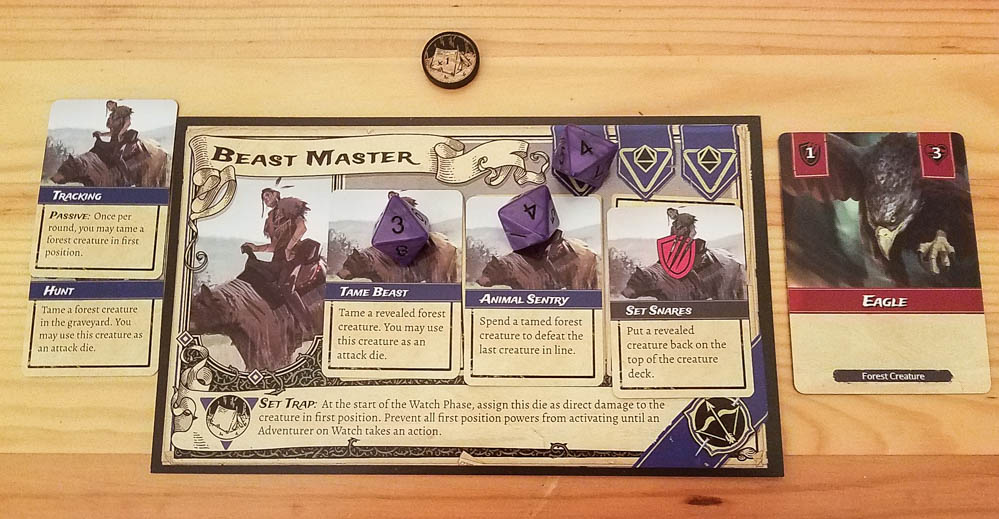 Set a Watch review - adventurer board and cards