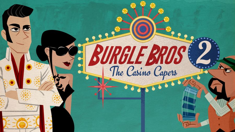 Burgle Bros 2 The Casino Capers cover