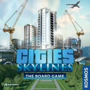 Cities Skylines – The Board Game - cover