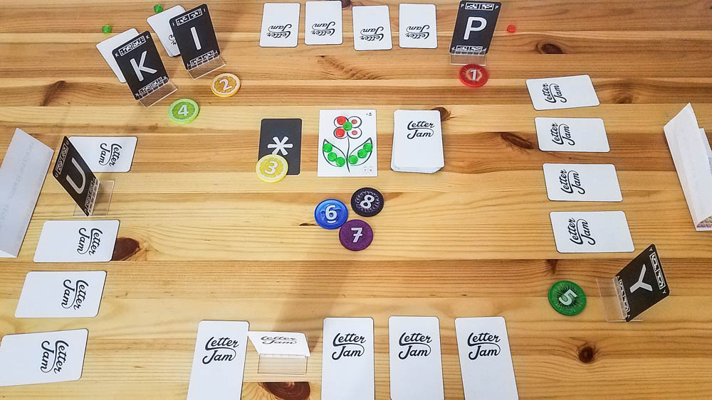Letter Jam review - 4 player game
