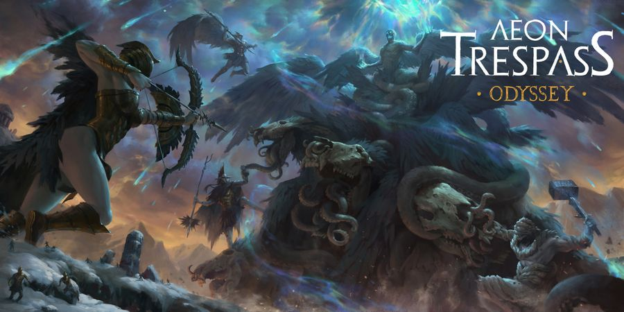 Aeon Trespass Odyssey cover