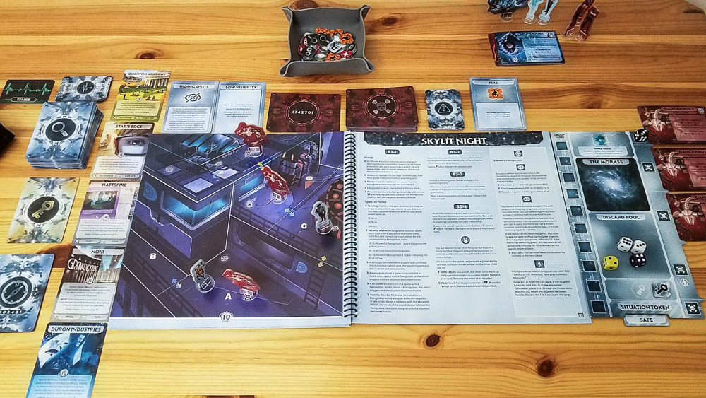 Comanauts review - in the middle of a game