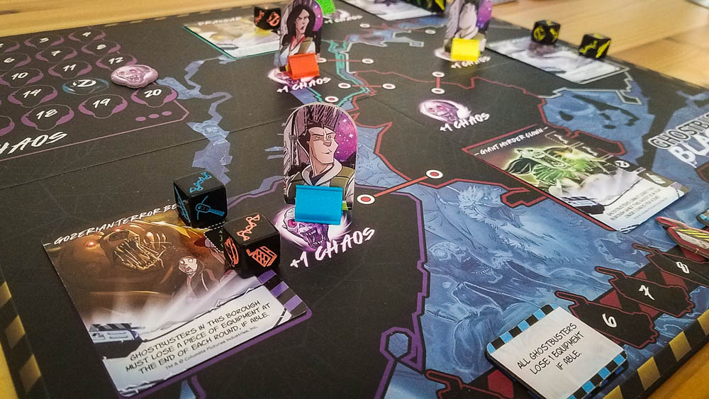 Ghostbusters: Blackout Review | Co-op Board Games
