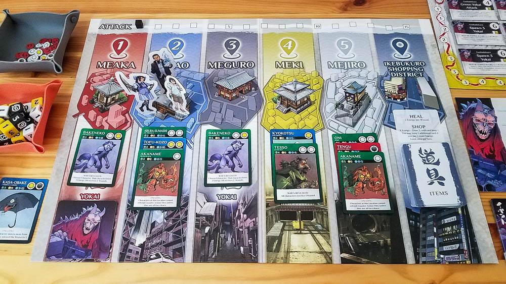 Wayward review - Gashadokuro setup