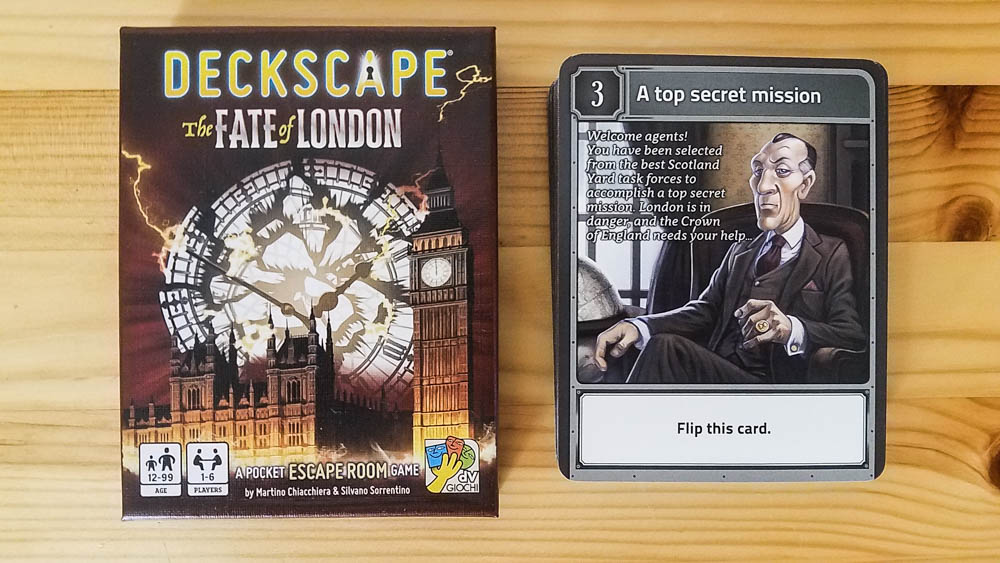 Deckscape The Fate of London review