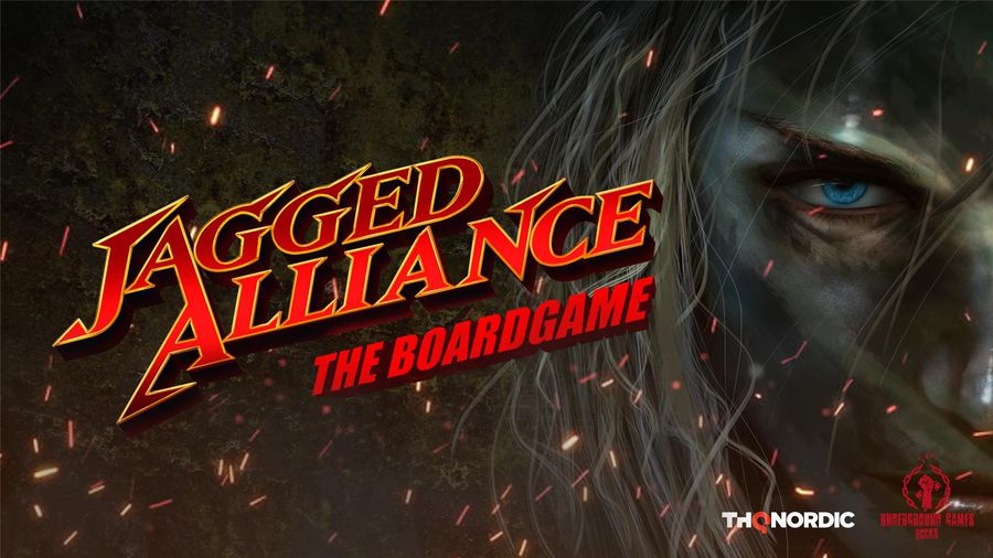 Jagged Alliance The Board Game review - cover