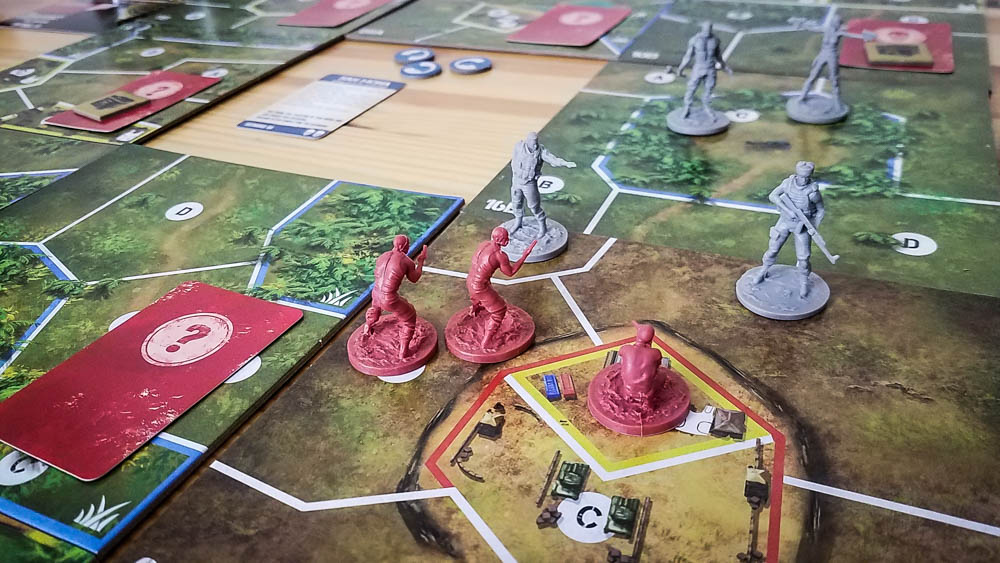 Jagged Alliance The Board Game review - trying to liberate