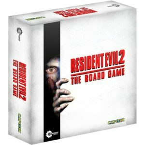 Resident Evil 2 The Board Game - cover