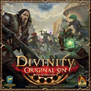 Divinity Original Sin the Board Game kickstarter cover