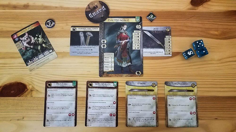 Legends Untold review - fighting goblins
