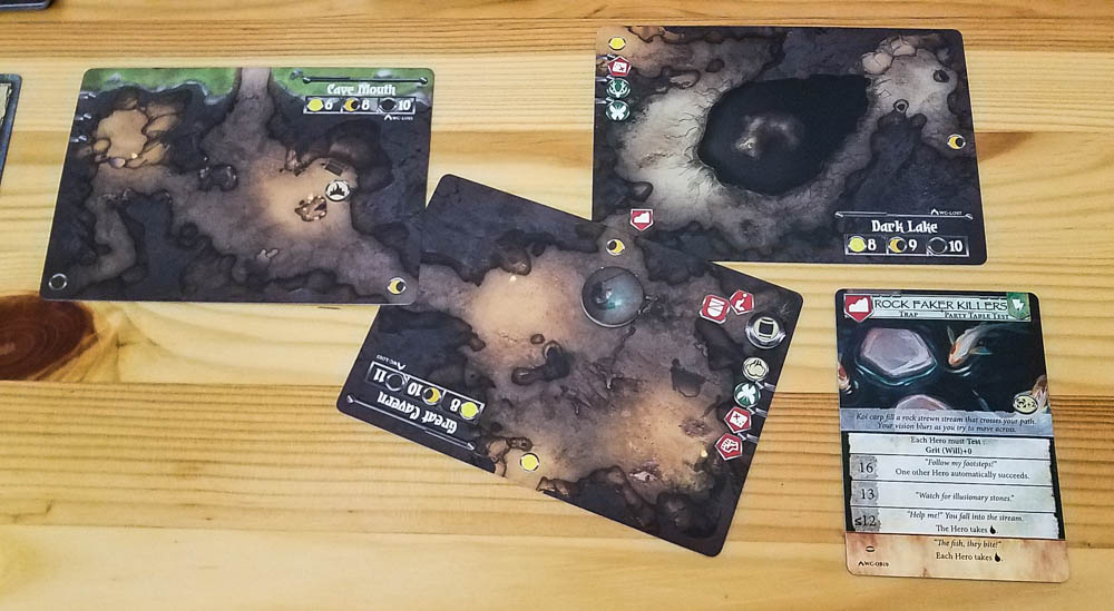 Legends Untold review - switching locations
