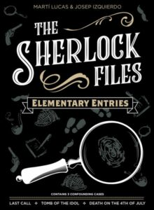 The Sherlock Files Elementary Entries - PAX