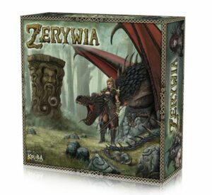 Zerywia kickstarter cover