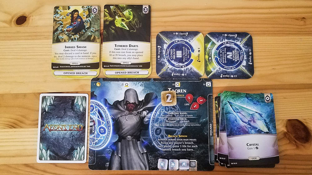 Aeon's End The New Age review - mage and his cards