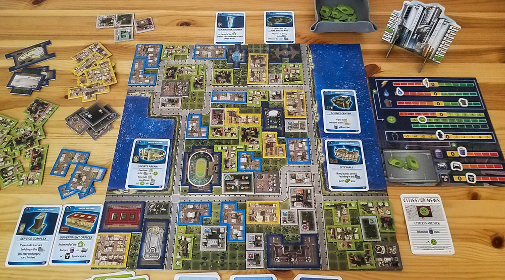 Cities Skylines The Board Game Review Co Op Board Games