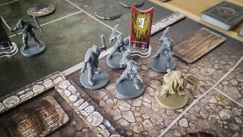 The Lord of the Rings Journeys in Middle-earth review - Gimli fighting