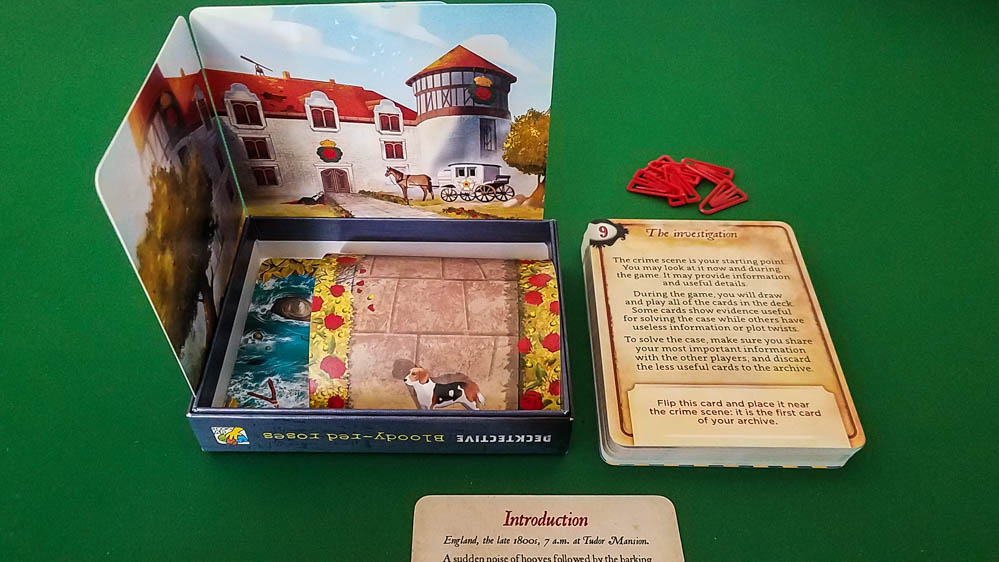 Decktective Bloody-Red Roses review - setup