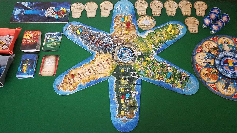 Atlantis Rising (Second Edition) review - 3 player game