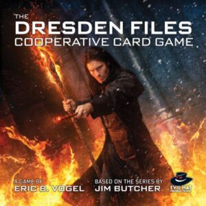 The Dresden Files Cooperative Card Game review - cover