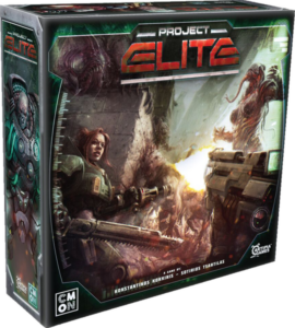 Project ELITE - cover