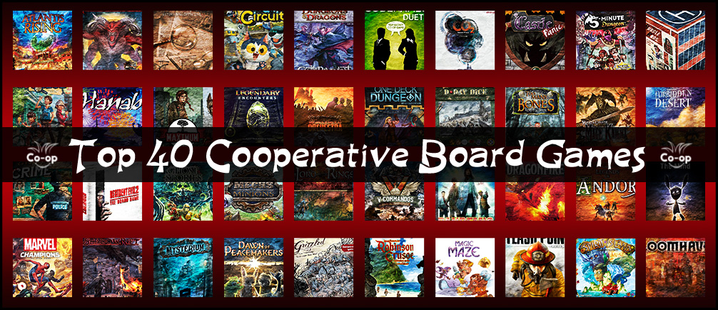 top 40 cooperative board games (2020 edition)