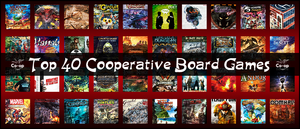 top 40 cooperative board games (November 2020 edition)