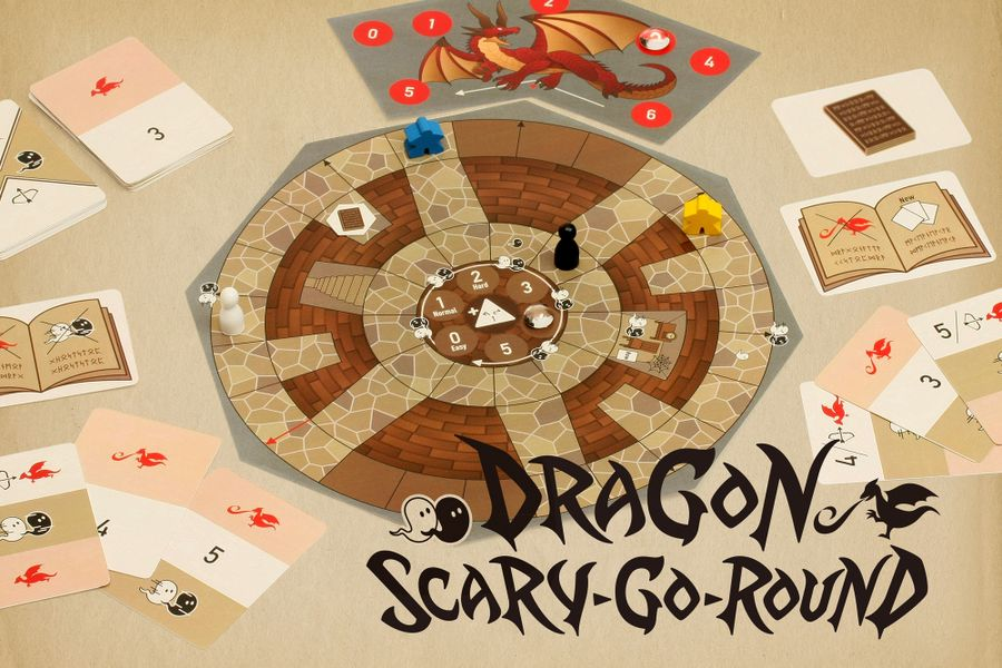 Dragon Scary-go-round cover