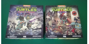 Teenage Mutant Ninja Turtles Adventures review - box covers