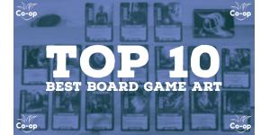 top 10 best cooperative board game art
