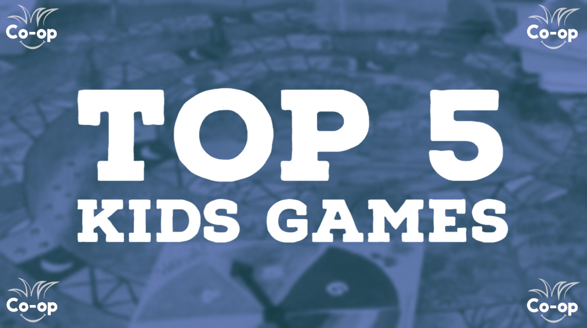 top 5 best cooperative kids board games