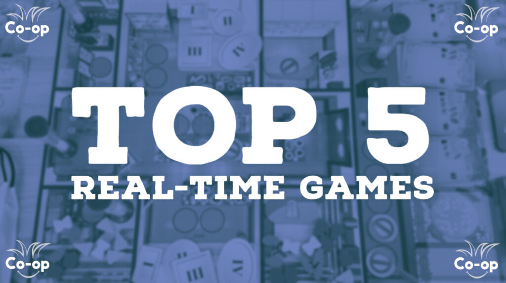 top 5 best cooperative real-time board games