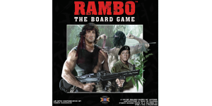 Rambo The Board Game cover