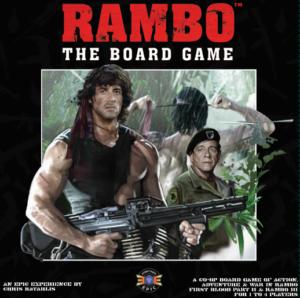 Rambo The Board Game cover